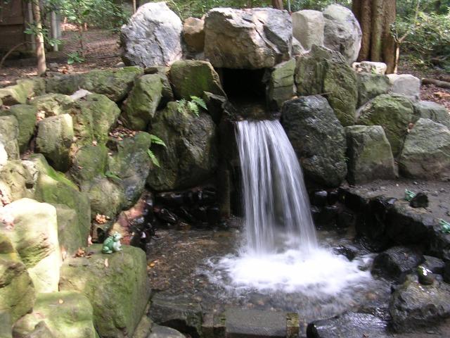 Waterfall at Tsubaki