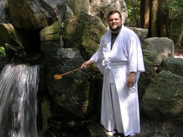 Christian at Tsubaki Grand Shrine